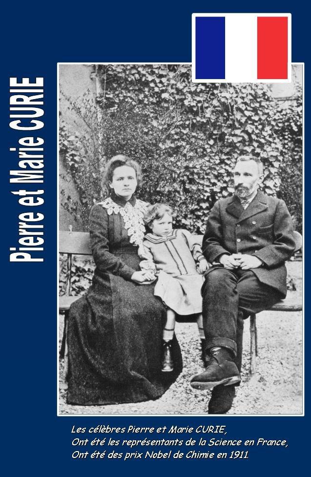 Bravo à Madame et Monsieur Curie :