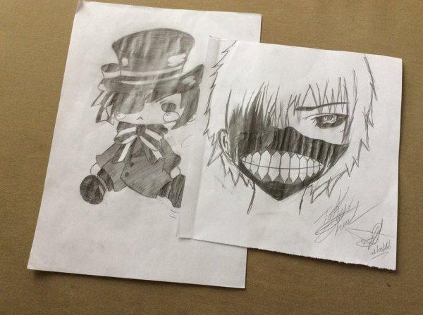 Certains de mes dessins.... <3