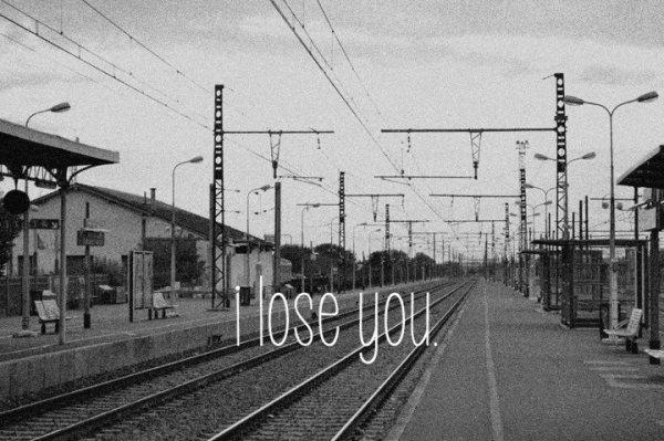 j'aurais aimée que nos adieux soient fabuleux, comme dans les films. tu ma juste dis au revoir et t'as claqué la porte.