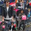 __ __25.02.11 __ Frankie et Una étaient de sortie  à Cardiff ________________TOP ou FLOP ?    __