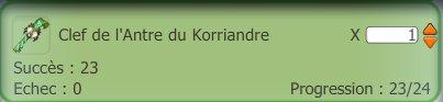 En route pour farm le Korriandre !
