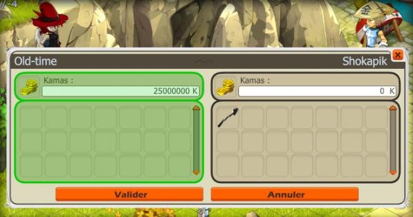 Acquisition, Dofus Turquoise +18