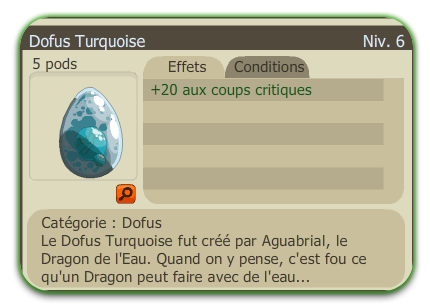 Deuxième Dofus Turquoise +20