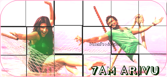 ☆ 7AM ARIVU - First Look  ☆                                                                  Ohhhhh My God !!!!!!!!!!!!!!!!! ♥ What a handsome Surya ♥ Love love this new pics a lot, very exciited to watch the full clip song ;D Mhh actually this new pair Surya/Shruthi sounds cool nice !! ;)