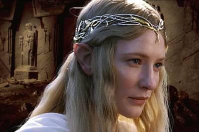 Dame galadriel le seigneur des anneaux for Miroir de galadriel