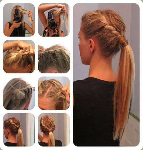 Coiffure simple ♥