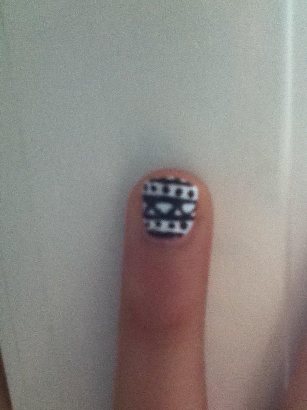Mon new nail art