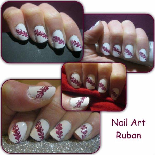 Nail Art Ruban Facile