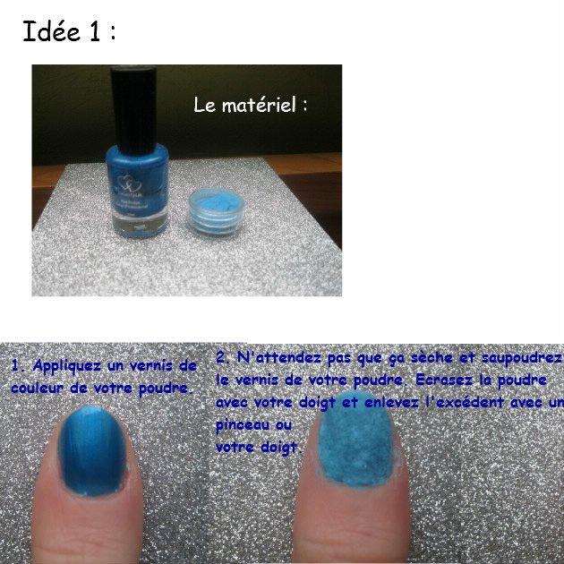 5 idées nail art avec de la poudre velours