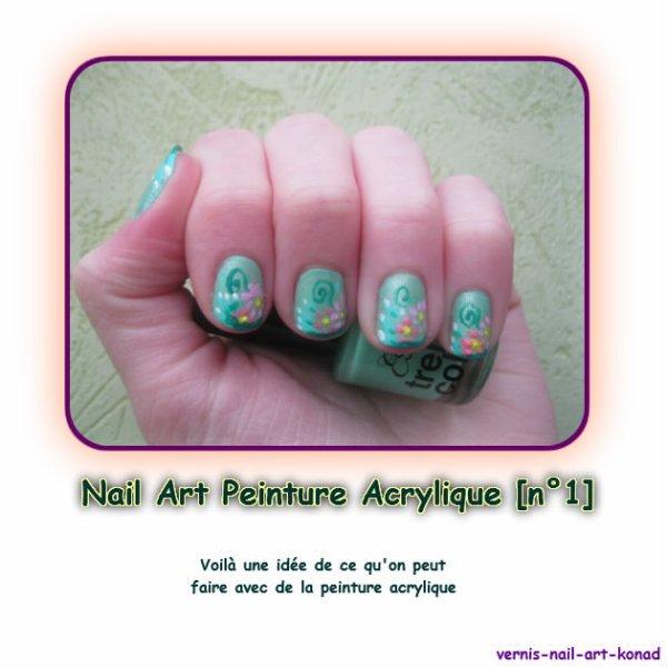Nail Art Peinture Acrylique [n°1]