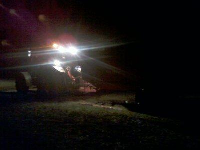 Transport du fumier de Nuit !