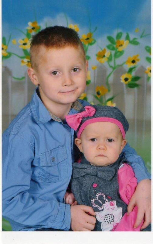 mon fils et ma fille
