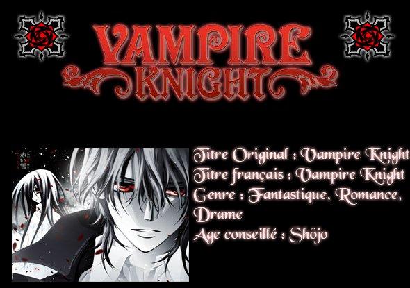 Vampire Knight !
