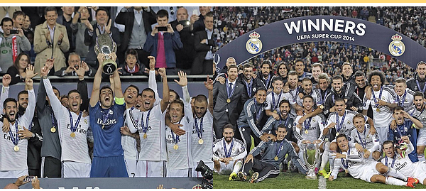 FINALE DE LA SUPERCOUPE D'EUROPE.       12/08/2014 | Stade: Cardiff City Stadium | Arbitre: Marc Ckatenburg | Score final: RMA 2 - 0 SEV