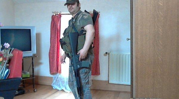 Moi en tenue de combat airsoft