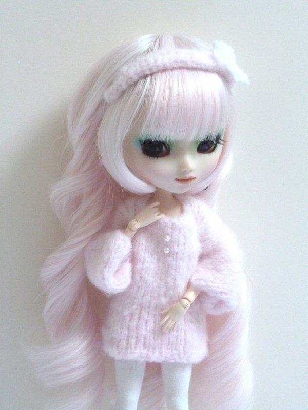 Séance avec robe en laine!