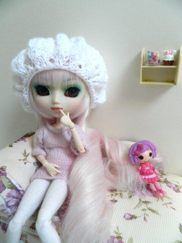 Séance de mon bonbon rose!