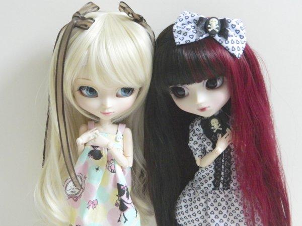 Nouvelles wigs pour Ayumi et Kaede!