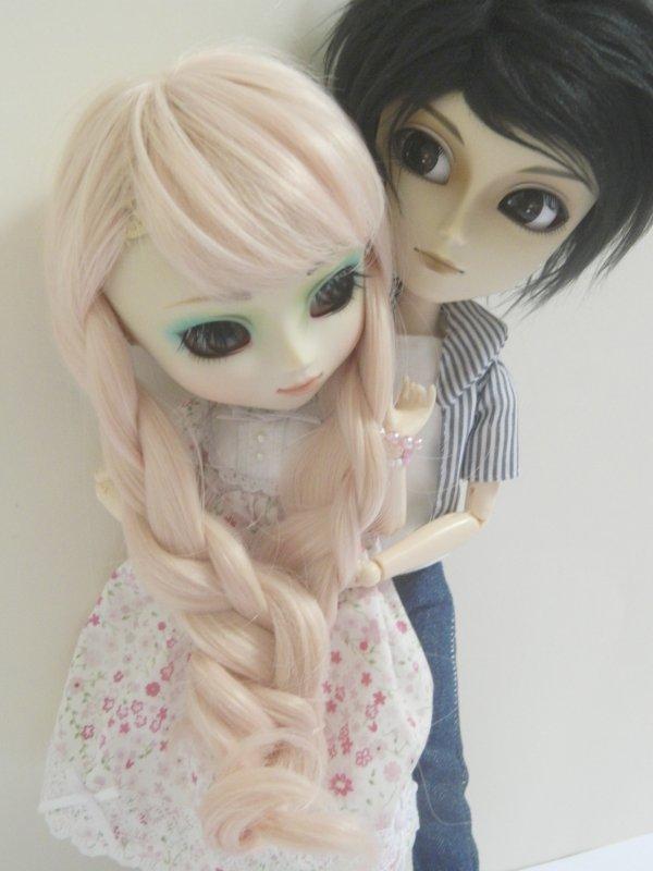 Séance de couple avec mes amoureux!