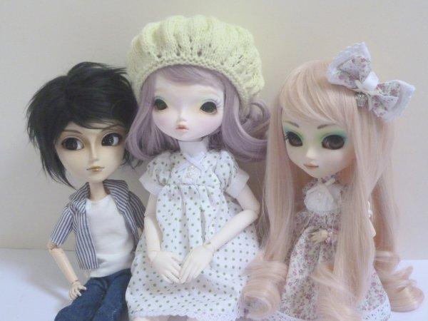 Photos de Kaguya avec Kimiko et Ikuto!