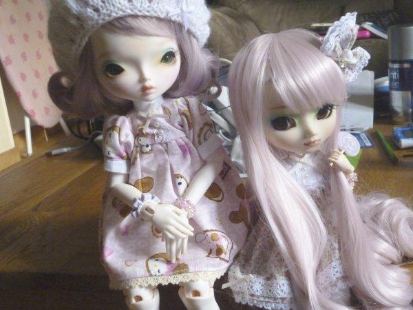 Nouvelle séance de Kimiko avec sa nouvelle wig!