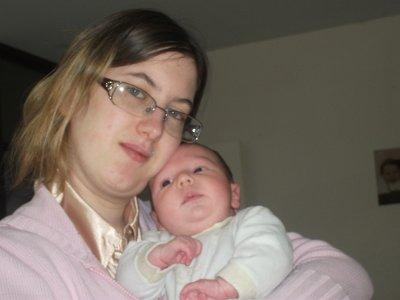 moi avec mon bebe