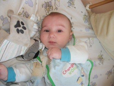 Mon fils Nolan a 7Mois