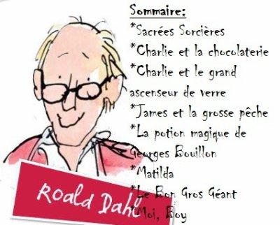 Critiques de livres: Roald Dahl