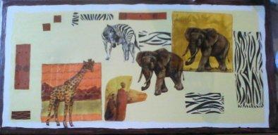 Tableau Savane Africaine !