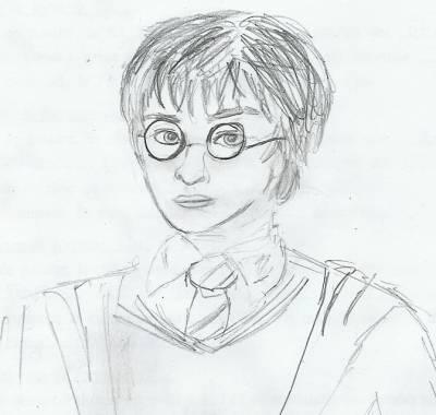Blog de dessins by me le monde d 39 un coup de crayon - Dessin harry potter facile ...