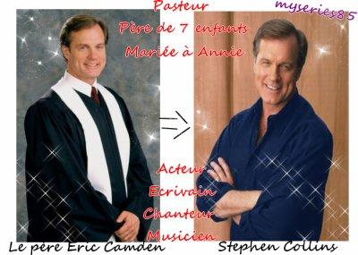 """""""Eric Camden joué par Stephen Collins (le père de famille)"""""""