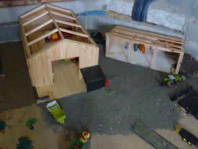 mes deux hangars agricole