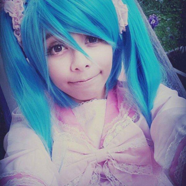 Mon cosplay d'Hatsune Miku :3