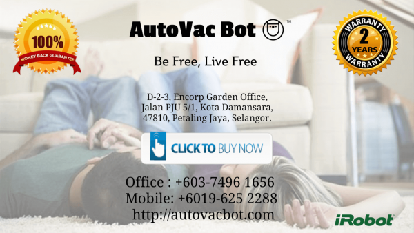Unstoppable iRobot Roomba 890 Gong Badak