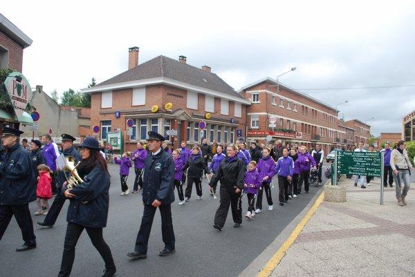 Défilés de notre commune
