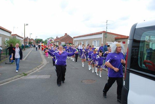 défilé-carnaval de la commune de Oignies