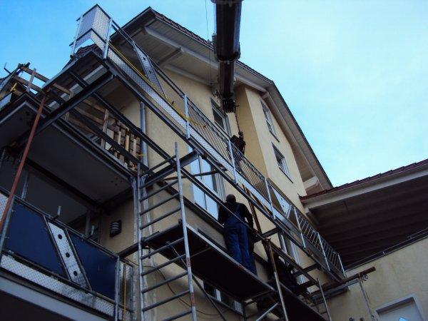 Pose balcon