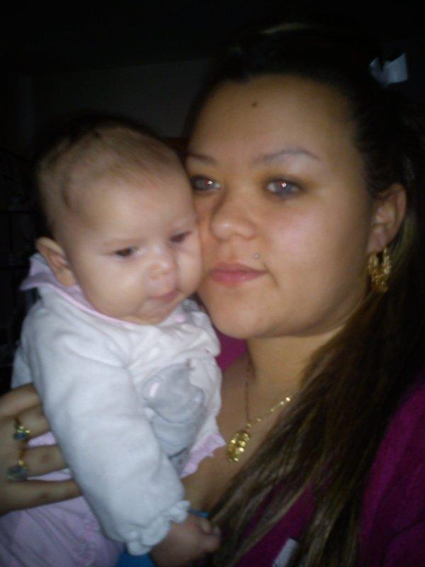 je vous aime il y a ma niece noémie avec ma fille jess et mon bo frere  francois le pere de noémie et ma soeur helene la maman de noémie bizzzz jtm
