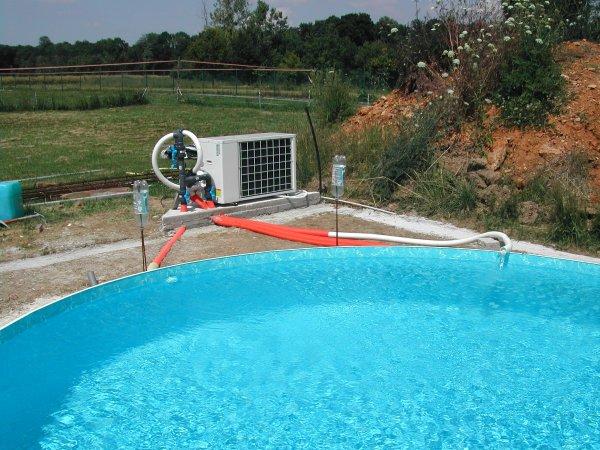 Pose de la pompe chaleur suite paulo 77 devenu paulo - Pose pompe a chaleur piscine ...