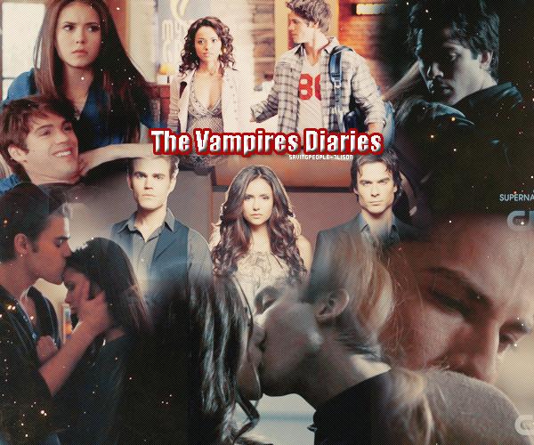 •●•The vampires Diaries et mes article dessus•●•