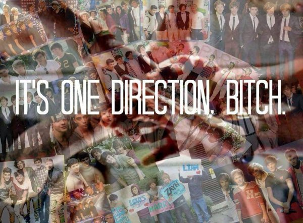 It's One Direction Bitch.