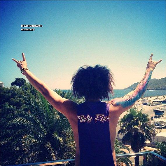 18/07/12 : Redfoo arrive à Ibiza !