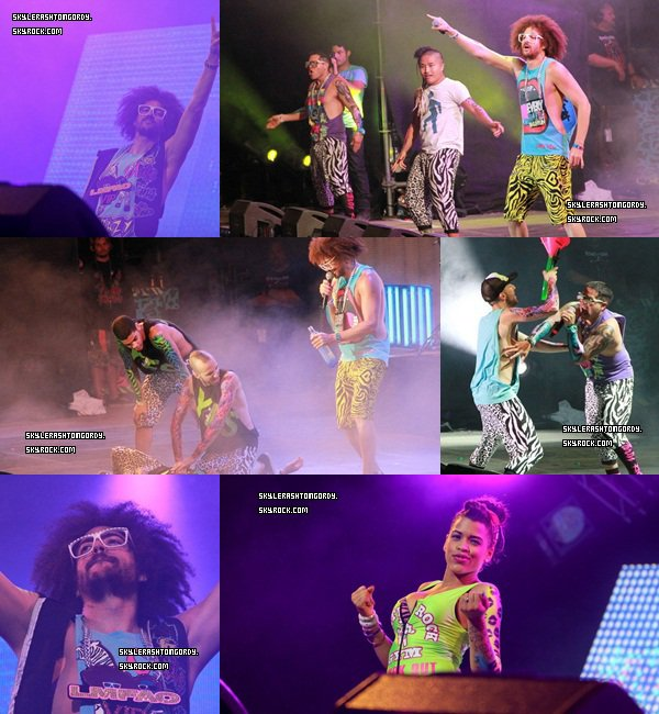 05/08/12 : Redfoo au Palais club de Cannes !