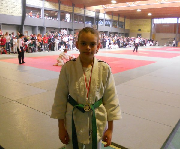 """Le Tournoi """"6 ème Challenge Andy 2014"""" de l'Ecole Judo Mouscon à Dottignies..."""