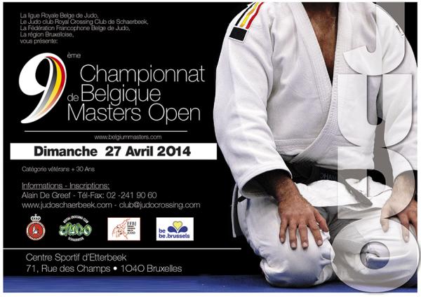 Invitation... Les Championnats de Belgique Master Open 2014 à Bruxelles