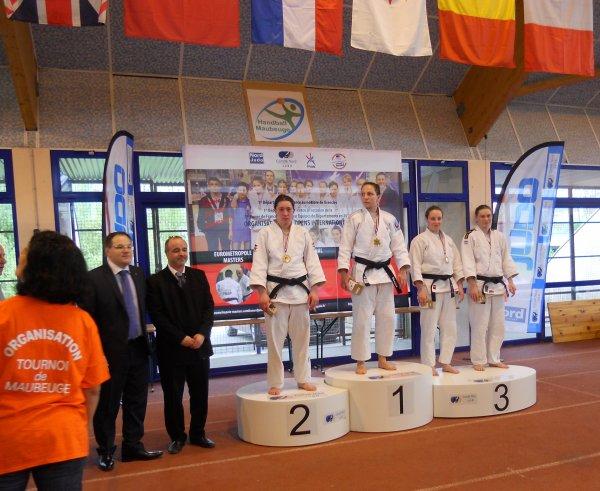 Le 17 ème Tournoi International Judo de la ville de Maubeuge 2014 (Label B FFJDA)...