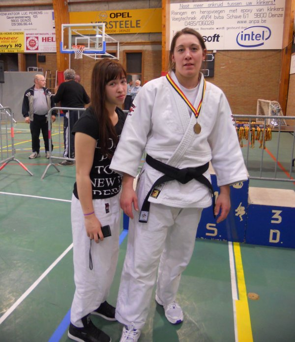 Le 33 ème Bekers Van Deinze 2014 organisé par le JudoClub Kiawazu Deinze à Deinze...