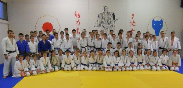 Entrainement collectif U15/U18 pour la préparation aux Championnats de Belgique Inter-Province 2014