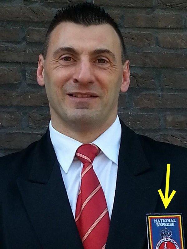 Promotion... Très bonne nouvelle pour notre arbitre du club qui accède au niveau National...