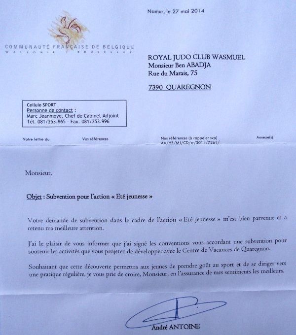 """Projet ADEPS """"Été-Jeunesse 2014"""" en partenariat avec l'Administration Communale de Quaregnon..."""